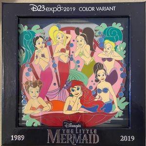 Little Mermaid Ariel & Sisters Jumbo pin